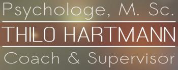 Psychologe Thilo Hartmann, M.Sc. - Coach, Supervisor